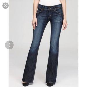 Hudson Jeans Dark Wash Bootcut Collin Flap Stretch
